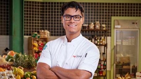 """Top Chef"" contestant Byron Gomez, of Central Islip,"