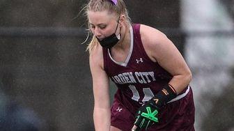 Garden City's Sarah Killcommons attacks the goal during