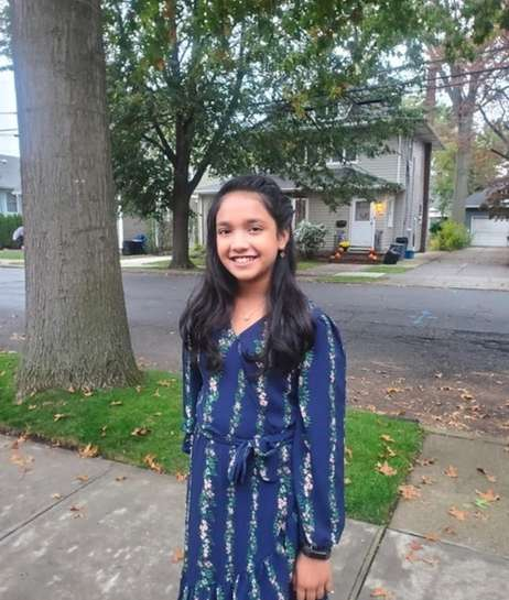Aaminah Khondker, 12, of Floral Park...Photo Credit: Fauzia