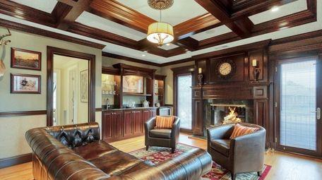 The house has radiant heated hardwood floors.