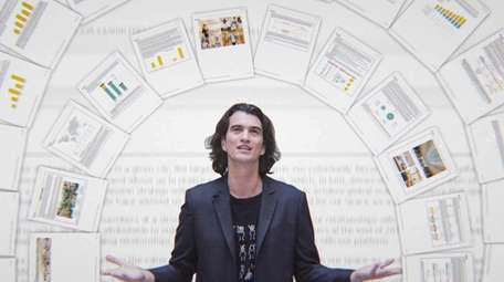 Adam Neuman, co-founder of WeWork, is the focus