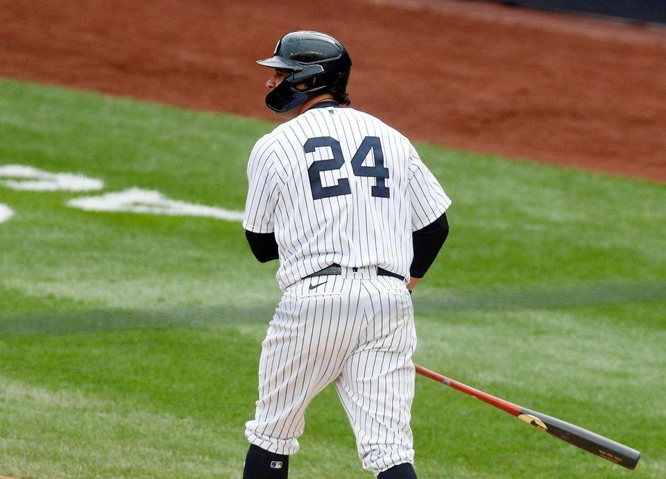Gary Sanchez #24 of the New York Yankees