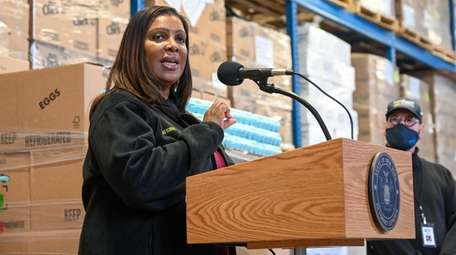 Attorney General Letitia James said her office will
