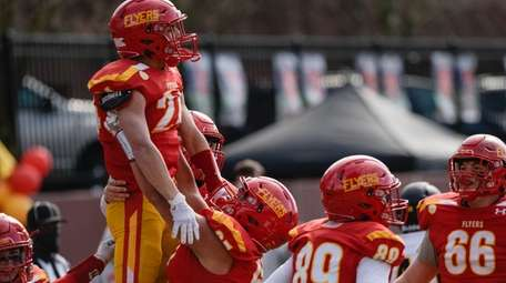 Mario Fischetti Jr. of Chaminade gets a pick-me-up