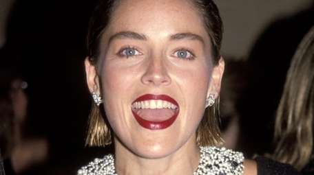 Sharon Stone displays a great deal of warmth