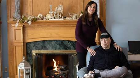 Jennifer Londino with her father, Bob Gugliuzza.