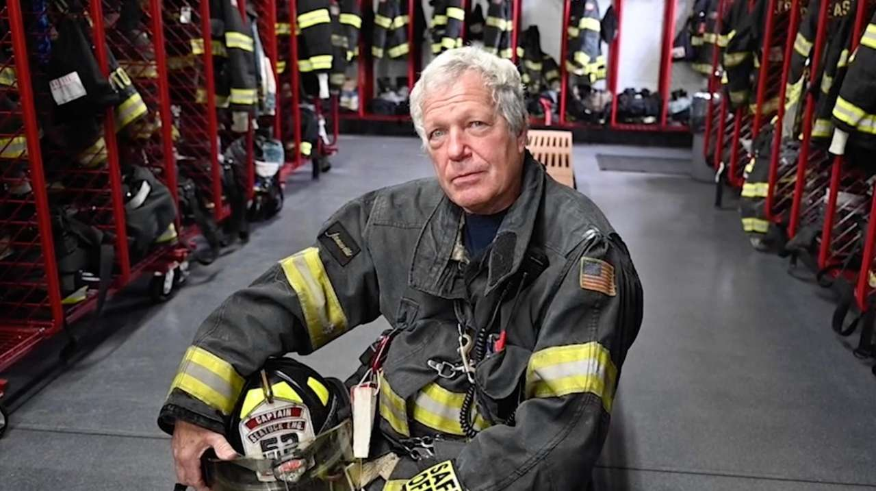 Steven Schaefer Sr., of the Eastport Fire Department,