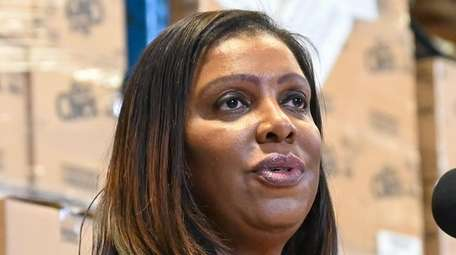 New York State Attorney General Letitia James at
