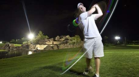 If you prefer golfing at night, try the
