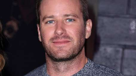 Armie Hammer has left the cast of the