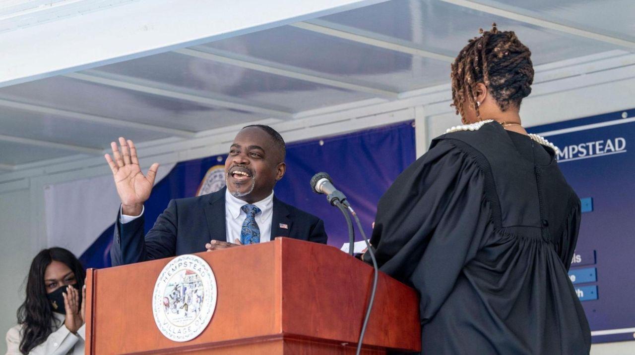 Waylyn Hobbs Jr. was sworn in as the