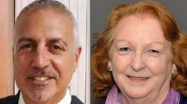 Republican James Mazzarella and Democrat Kate Browning faced