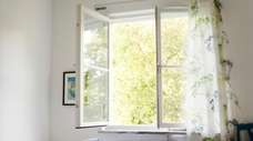 Open windows can expose you to outdoor allergen