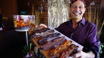 Newsday food critic Scott Vogel visited Garden of
