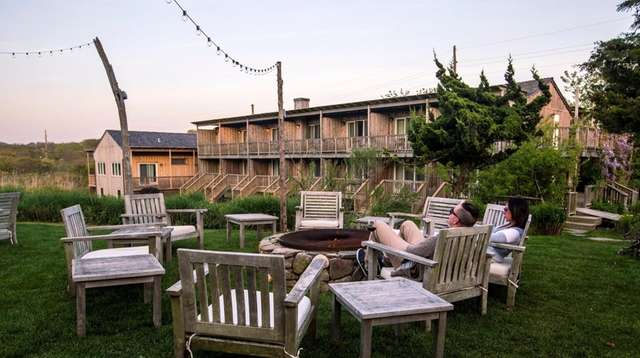 The Crow's Nest in Montauk offers fourteen rooms