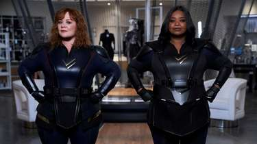 Melissa McCarthy as Lydia and Octavia Spencer as