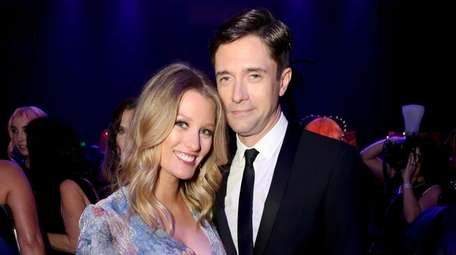 Ashley Hinshaw and Topher Grace revealed they were