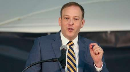 Rep. Lee Zeldin (R-Shirley), shown at a ceremony