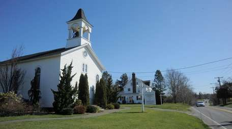 The Baiting Hollow Church on South Avenue in
