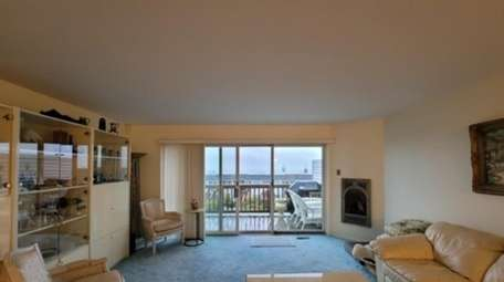 Priced at $420,000, this two-bedroom, 2½-bathroom condo on