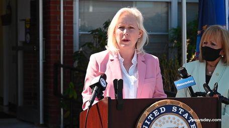 U.S. Senator Kirsten Gillibrand announced a package of