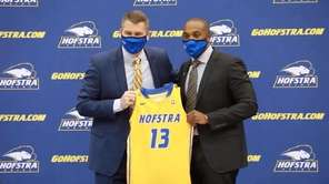 Speedy Claxton, a Hofstra alum, was introduced as