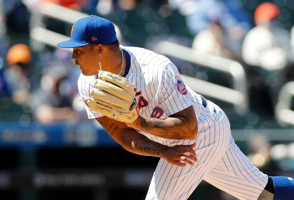 Taijuan Walker #99 of the New York Mets