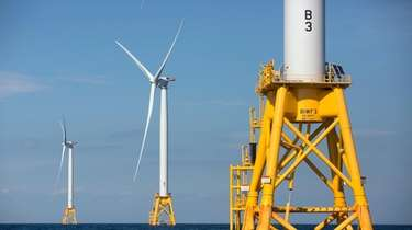 Massive wind turbines proposed for 15 miles off