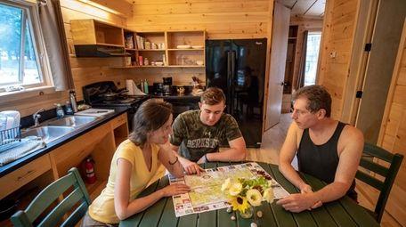 Sam Boorstyn, his wife, Linda Loewenthal, and their