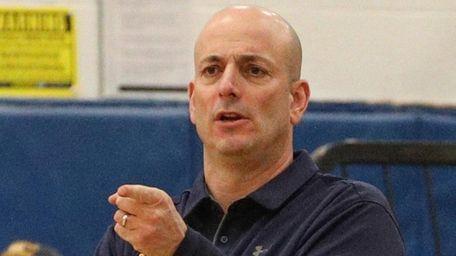 Northport head coach Andrew D'Eloia.