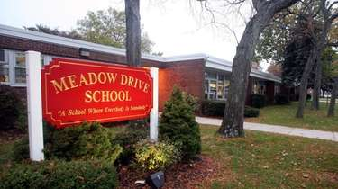 Meadow Drive School in Albertson.