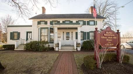 The home of the Bay Shore Historical Society