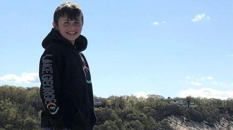 Vincent Martino, a seventh-grader at North Country Road
