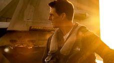 "Tom Cruise plays Capt. Pete ""Maverick"" Mitchell in"