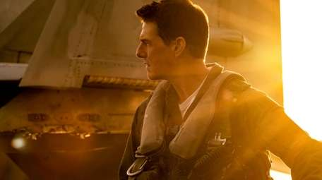 "Tom Cruise plays Capt. Pete ""Maverick"" Mitchell in"