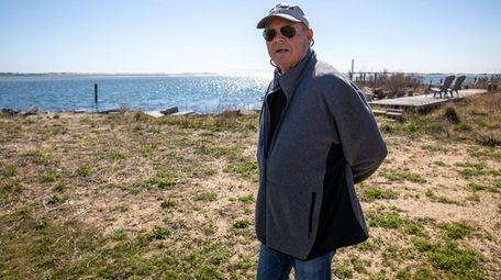 Tom Jones, an Oak Beach resident, at the