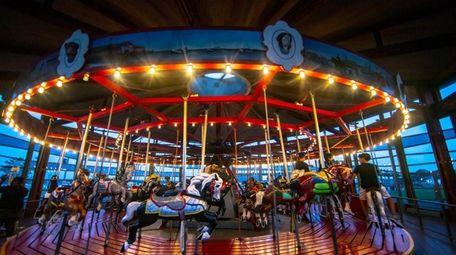 The Greenport Carousel in Greenport.