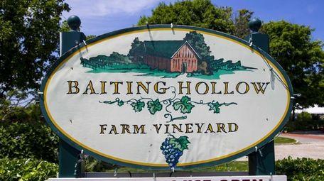 Baiting Hollow Farm Vineyard in Baiting Hollow.