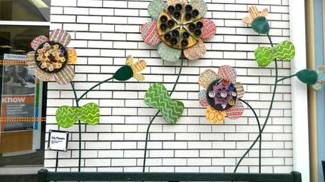 The City Blooms sculpture adds a lot of