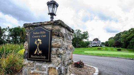 Indian Hills golf club in Fort Salonga in