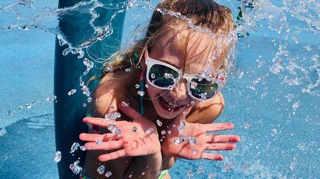 Visit the splash parks at Tobay Beach, Eisenhower