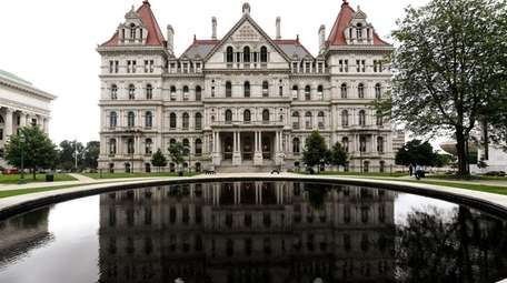 The New York State Capitol on June 19,