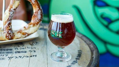 Stargazer pale ale, Peconic County Brewing in Riverhead.