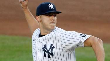 Jameson Taillon of the Yankees pitches during the