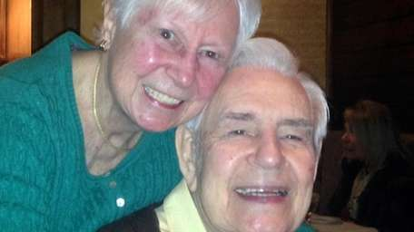 Gus and Marie Otto of Brightwaters in February