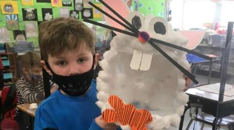 In East Islip, first-graders in Lisa Ruland's class