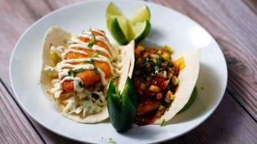 Fish tacos at Chico's Tex-Mex in East Setauket.