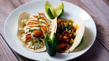 Fish tacos at Chico's Tex-Mex in East Setauket.