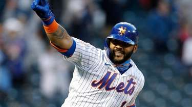 Jonathan Villar #1 of the New York Mets