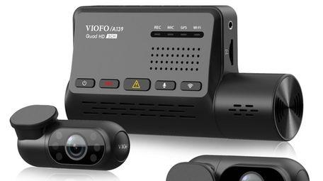 Viofo A139 3CH 3 Channel Dash Cam has